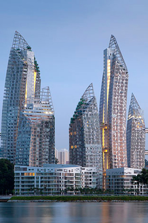 Reflections at Keppel Bay, Singapura